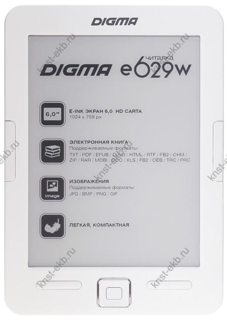 6'' Электронная книга Digma E629 ТДН-124