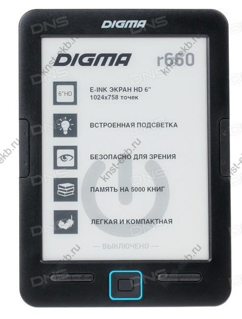6'' Электронная книга Digma R660 ТДН-126