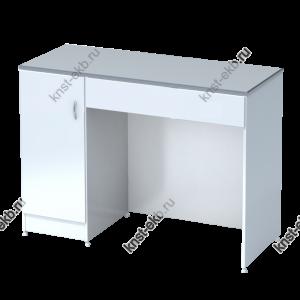 Стол лабораторный однотумбовый высокий МЕД-МСК