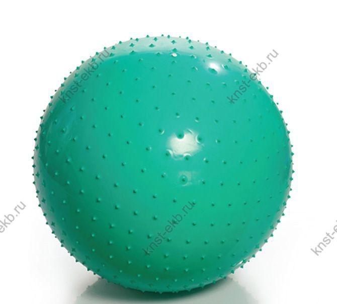 Мяч гимнастический игольчатый с насосом, D- 85 см., ОРТ-004