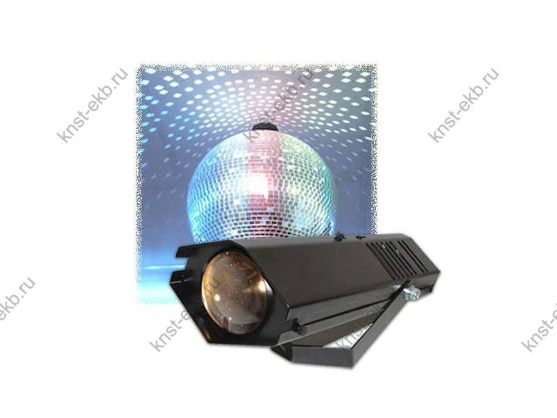 Световая пушка для подсветки зеркальных шаров, 5 лучевая, цветная СЛА-015