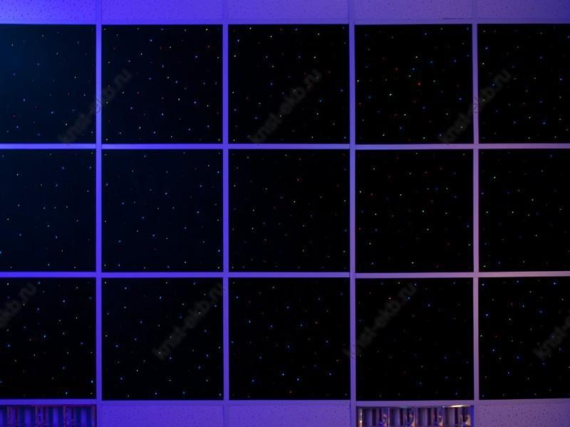 Световой потолок, 9 панелей, пульт ДУ АМД-018