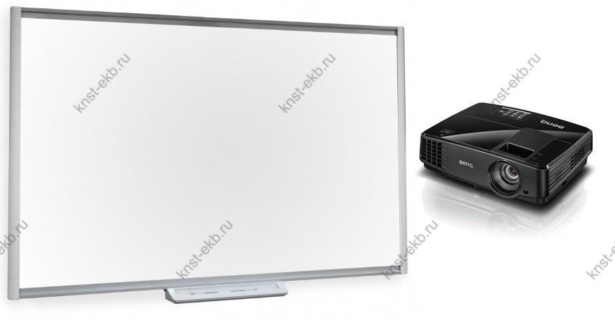 Комплект проектор BenQ MX507 + интерактивная доска SBM680 ПРТ-506
