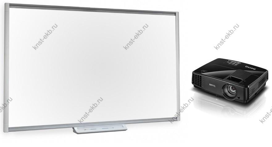 Комплект проектор BenQ MS506 + интерактивная доска SBM680 ПРТ-509