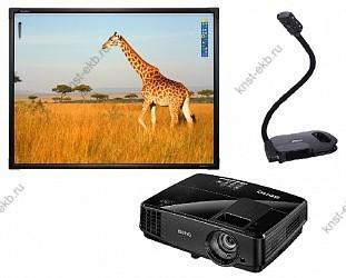 Интерактивная доска ActivBoard Touch 78 + AverVision U50 + BenQ MX505 ПРТ-511