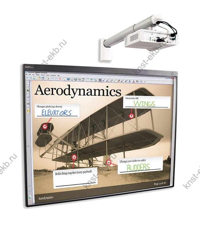 Комплект SB685iv4: Интерактивная доска SMART Board 685 ПРТ-516