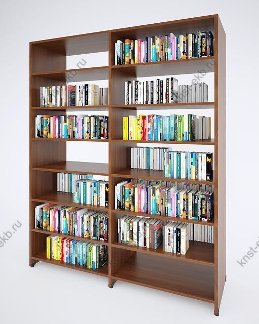 Стеллаж «Библиотечный» (базовый модуль) арт.ОРЛ-002