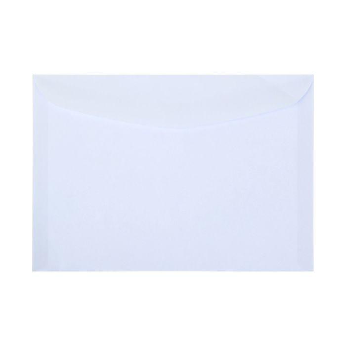 Конверт почтовый С5 162х229мм чистый, без окна, клей, без внутренней запечатки, клапан-автомат, 80 г/м, упаковка 100 шт