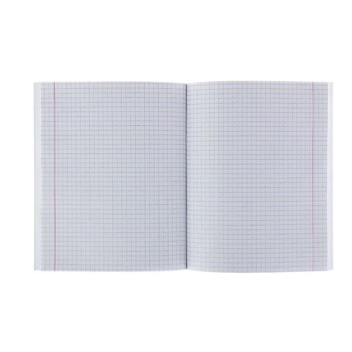 Тетрадь 96 листов клетка, бумвинил, офсет №1