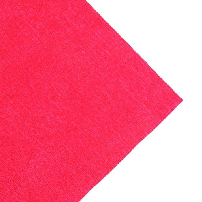 Бумага Koh-I-Noor креповая поделочная, гофро, 50 х 200 см, тёмно-красная, плотность 32 г/м2