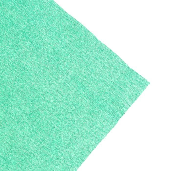 Бумага Koh-I-Noor креповая поделочная, гофро, 50 х 200 см, зелёная, плотность 32 г/м2