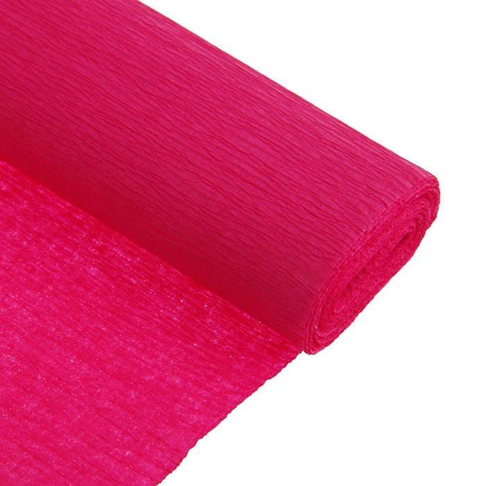Бумага Koh-I-Noor 9755/30 креповая поделочная, гофро 50 х 200 см, рубиновая, в рулоне