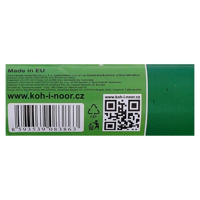 Бумага Koh-I-Noor 9755/28 креповая поделочная, гофро, 50 х 200 см, сиреневая, в рулоне