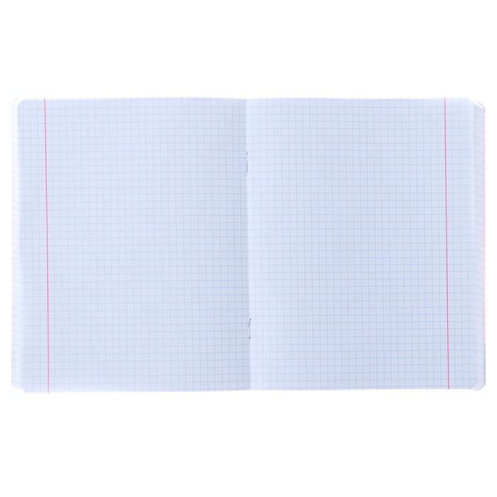 Тетрадь 96 листов клетка SAY, обложка мелованный картон, матовая ламинация, МИКС