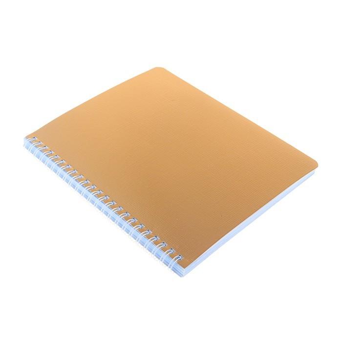 Тетрадь 96 листов клетка на гребне «Золото. METALLIC», бумвинил