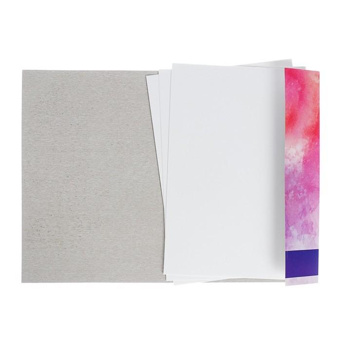 Папка для акварели А4, 10 листов «Девушка», 180 г/м?