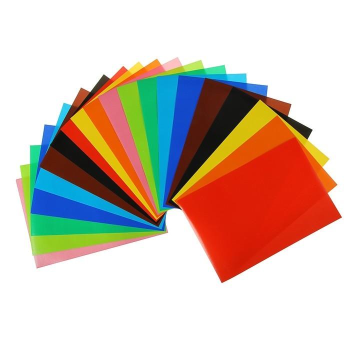 Бумага цветная А4, 20 листoв, 10 цветов