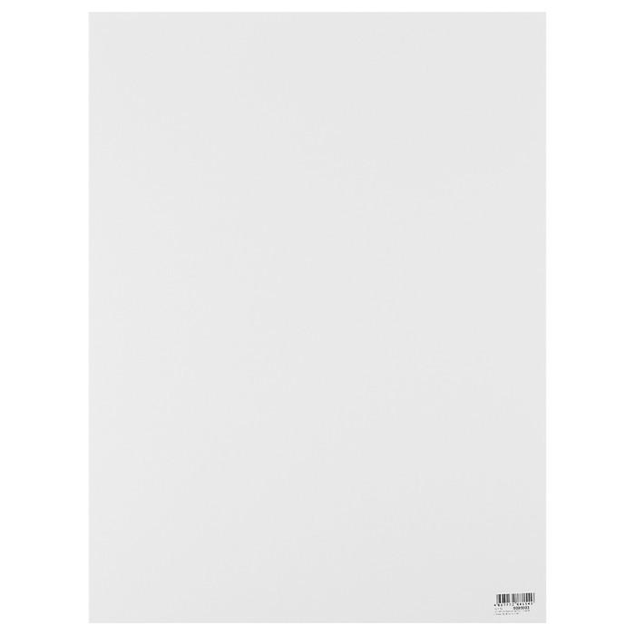 Картон пивной 1.55 630 г/м2. 30*40 см Decoriton белый 9099003