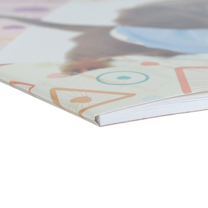 Альбом для рисования А4, 20 листов, на клею, Erich Krause «Верные друзья», блок 120 г/м2, обложка мелованный картон 170 г/м2, жёсткая подложка 360 г/м2, белизна 100%