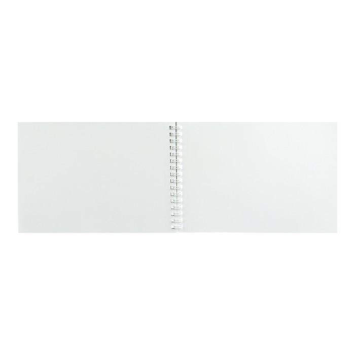Блокнот-скетчбук А5 40л на гребне Счастливые моменты с эск, бл 100г/м2, жёст подл 61103