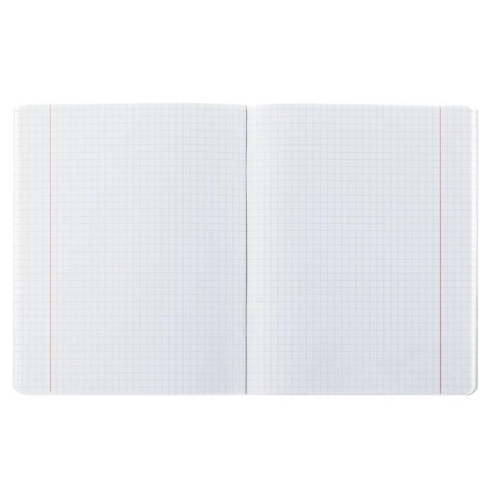 Тетрадь 96 листов клетка «Ассорти», 16 дизайнов