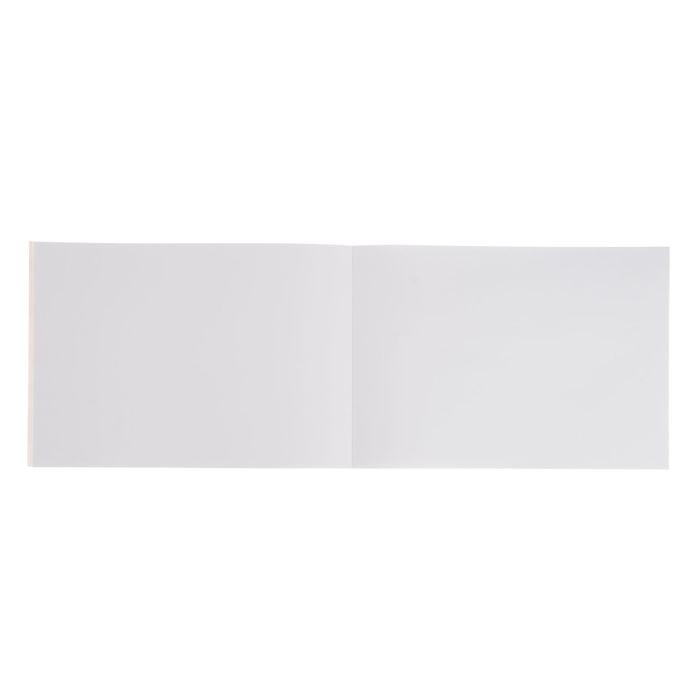 Альбом для рисования А4, 20 листов, на клею, Winx Club, с блёстками, блок 100 г/м2, МИКС