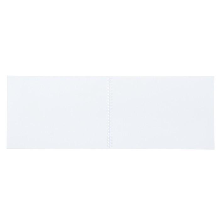Альбом для рисования А4, 40 листов на гребне «Амурский тигр», бумажная обложка
