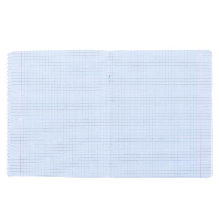 Тетрадь 48 листов клетка «Кеды», обложка мелованный картон, фольгирование, конгрев, УФ-лак, МИКС