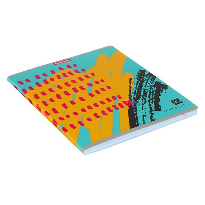Тетрадь 96 листов, в клетку, Erich Krause Абстракт-деко, 5В, МИКС
