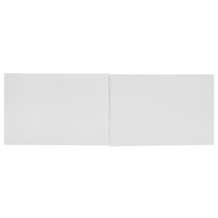 Альбом для рисования А4, 40 листов на гребне «Новые приключения», мелованный картон, МИКС