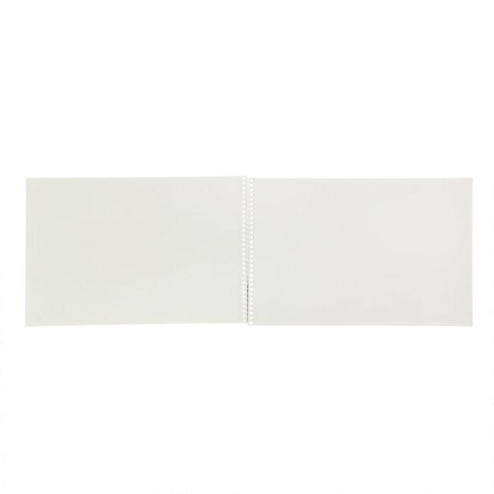 Альбом для рисования А4, 40 листов на гребне «Мир вокруг нас», обложка картон, блок офсет 100 г/м2, МИКС