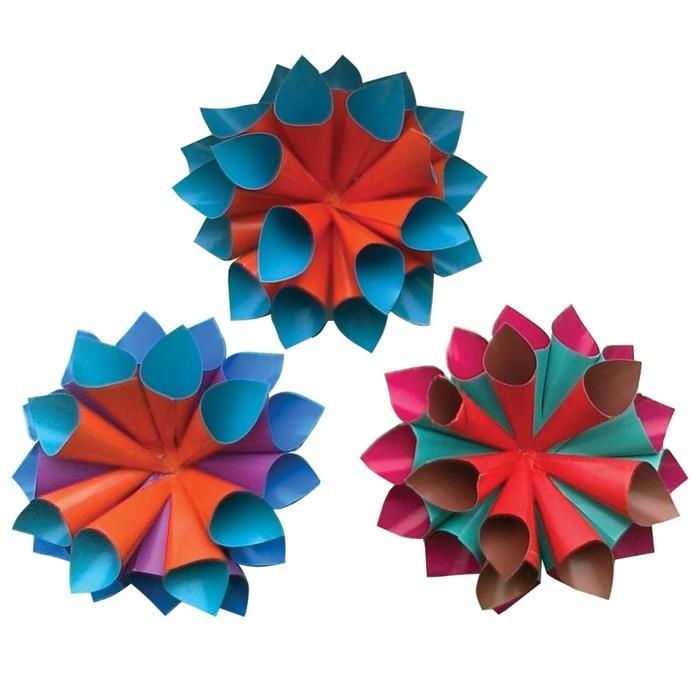 Бумага цветная двухсторонняя А4, 10 листoв, 20 цветов, мелованная, пaпка, 200 х 283 мм