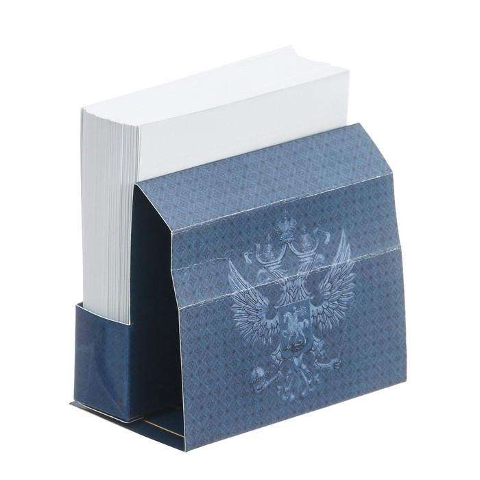 Бумажный блок в картонном футляре