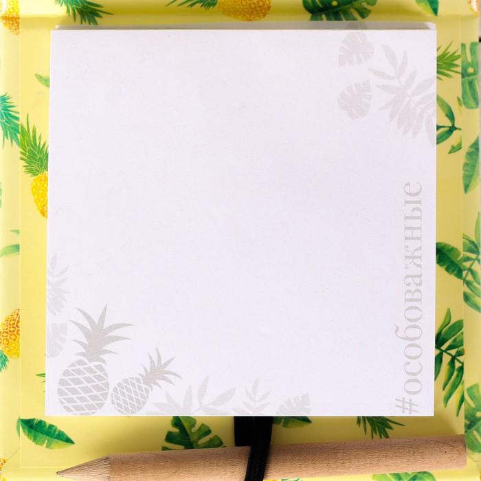 Футляр для бумаги с карандашом
