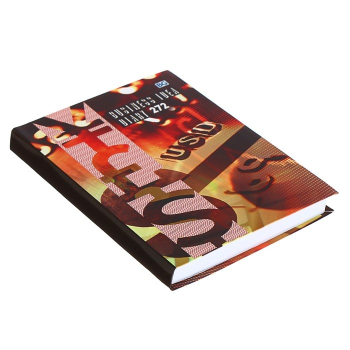 Ежедневник недатированный А6, 136 листов «Бизнес-идея», твёрдая обложка, глянцевая ламинация, МИКС