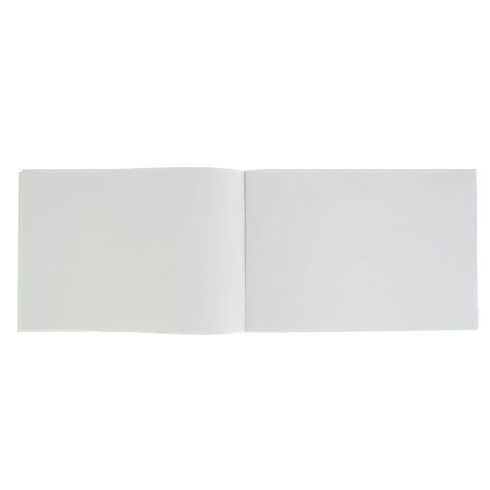 Альбом для рисования А4, 40 листов на скрепке «Синее премиум авто», обложка офсет 80 г/м2, блок-офсет 100 г/м2