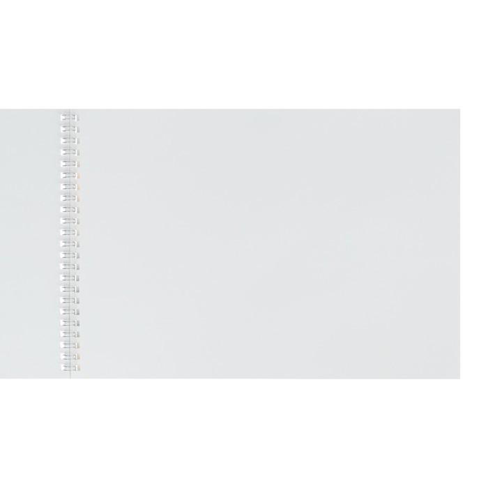 Альбом для рисования А4, 40 листов на гребне «Пионы», обложка мелованный картон, блок 100 г/м?, 4 вида МИКС
