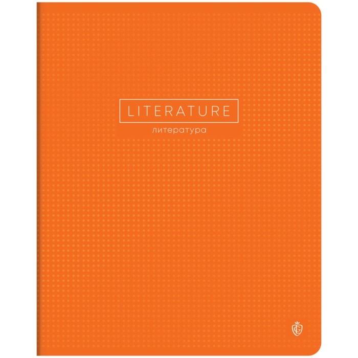 Тетрадь предметная Color point 48л кл Литература, мат. лам, выб. УФ-лак, 70г/м2 275525