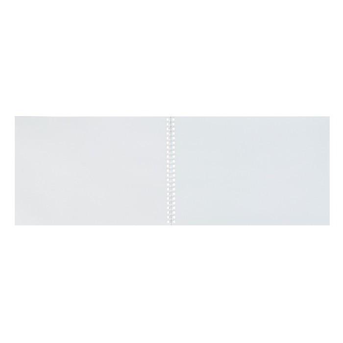 Альбом для рисования А4, 32 листа на гребне «Красный спорткар», обложка мелованный картон