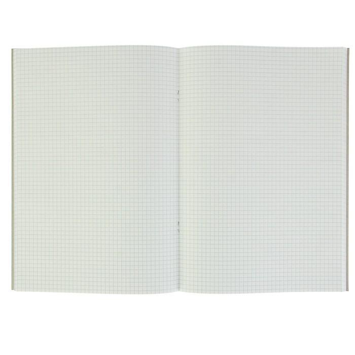 Тетрадь А4, 80 листов, клетка Nature