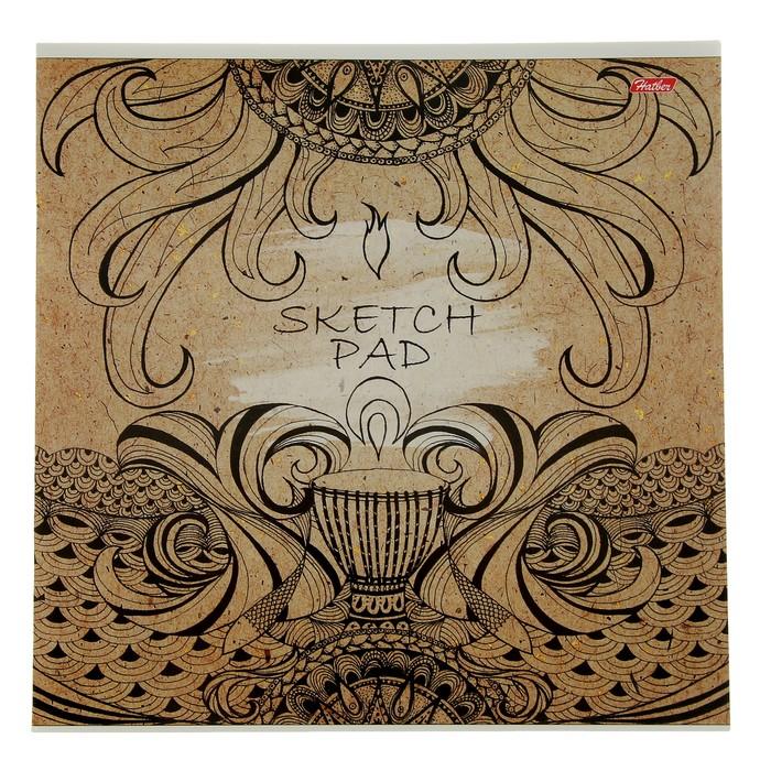 Альбом для рисования (скетчпад) 29 х 29 см, 32 листа на скрепке SPIRIT OF EARTH, блок 100 г/м?