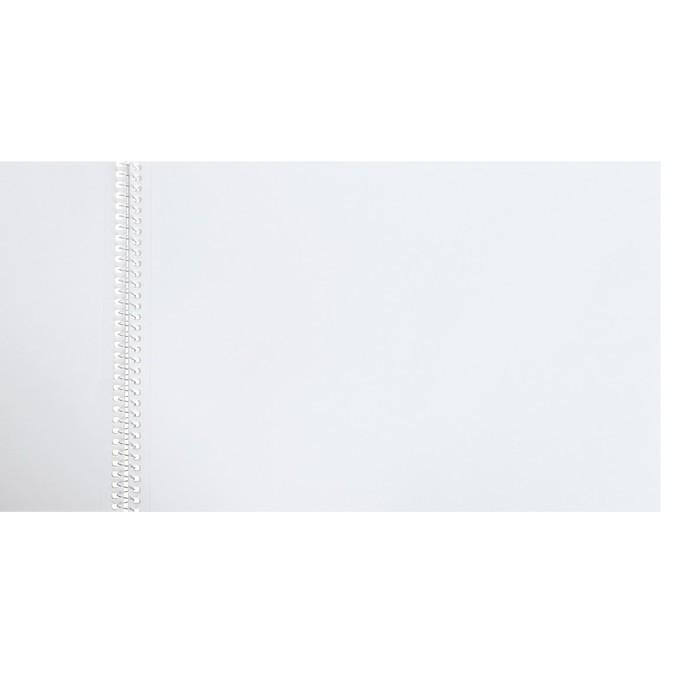 Альбом для черчения 20 листов на гребне «Архитектурный макет», блок 160 г/м?, МИКС