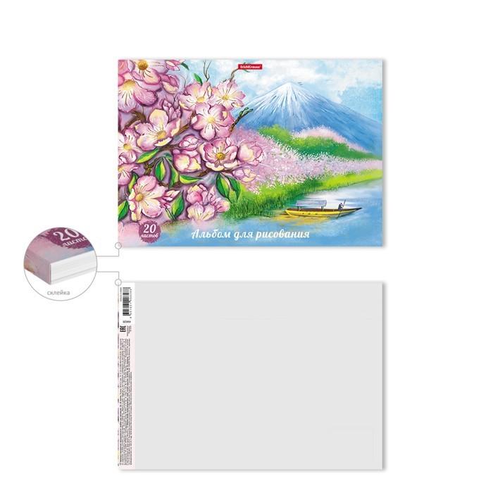 Альбом д/рис А4 20л на клею ErichKrause Цветущая Япония 49828
