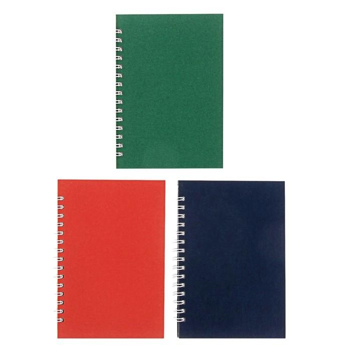 Записная книжка А6, 144 листа «Ассорти», твёрдая обложка, МИКС