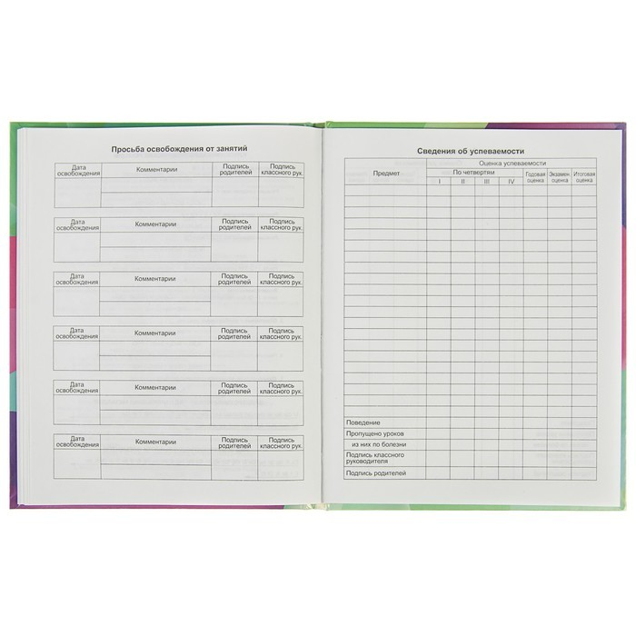 Дневник для 5-11 классов Mixing, твёрдая обложка, матовая ламинация, металлизация, 48 листов