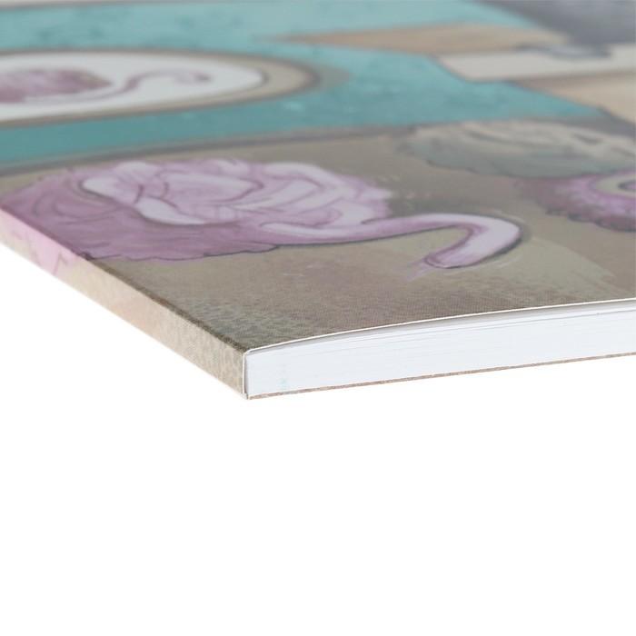 Альбом для рисования А4, 30 листов, на клею, Erich Krause Cat & Box, блок 120 г/м2, обложка мелованный картон 170 г/м2, жёсткая подложка 360 г/м2, белизна 100%