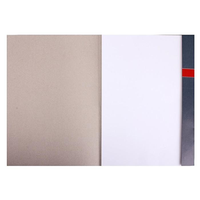 Папка для черчения А3, 7 листов, без штампа, 140 г/м?