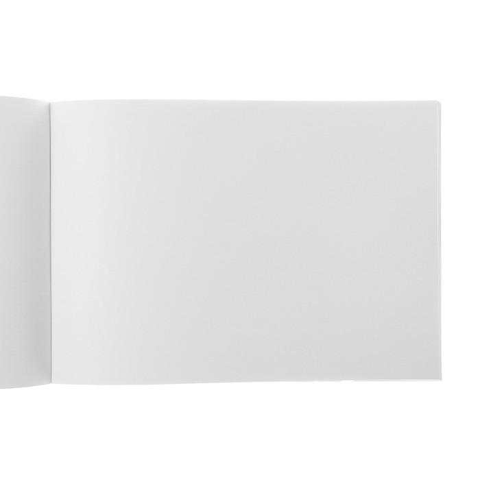 Альбом для рисования А4, 40 листов на скрепке «Милые кактусы», бумажная обложка