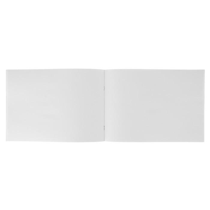 Альбом для рисования А4, 40 листов «Нежные розовые цветы», бумажная обложка