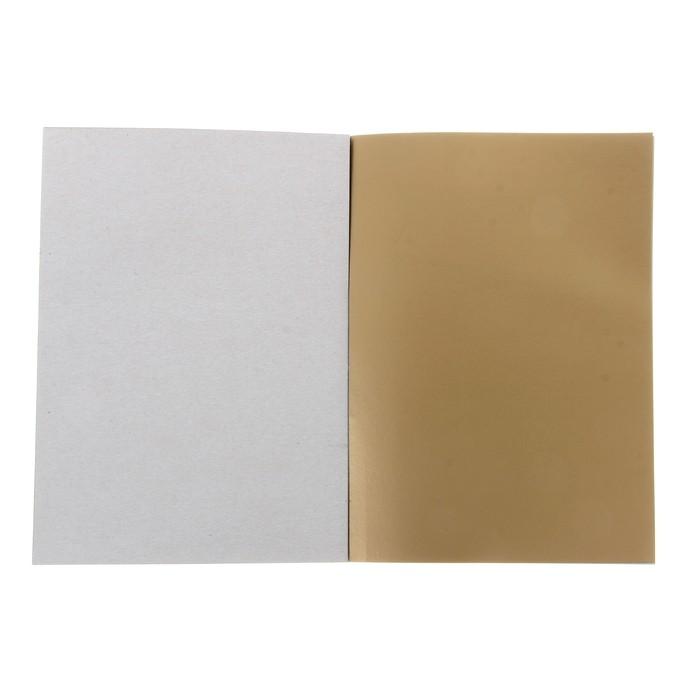 Набор для детского творчества А4, 10 листов картон цветной + 16 листов бумага цветная, «Котёнок и рыбка»